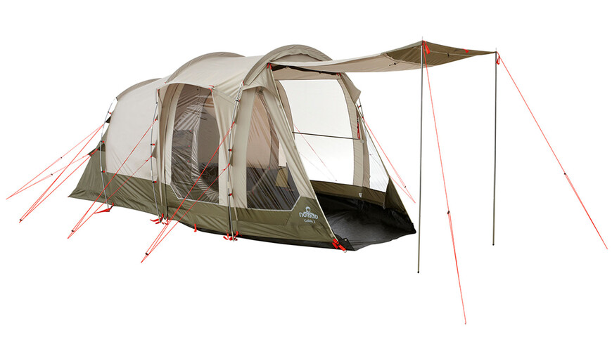 Nomad Cabin 2 Tent Pebble